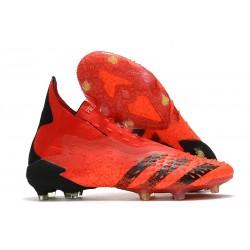 Buty Piłkarskie adidas Predator Freak+ FG Czerwony Czarny