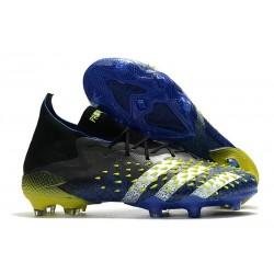 adidas Predator Freak.1 FG Niebieski Biały Zawistny