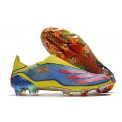 Buty Piłkarskie adidas X Ghosted + FG X-Men - Niebieski Czerwony Zawistny