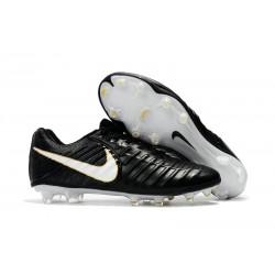 Buty Piłkarskie Nike Tiempo Legend VII FG Czarny Biały