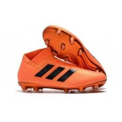 Adidas Nemeziz 17+ 360 Agility FG Buty Piłkarskie - Pomarańczowy Czarny