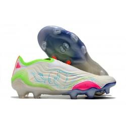 Buty piłkarskie adidas Copa Sense+ FG Biały Zawistny Różowy
