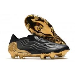 Buty piłkarskie adidas Copa Sense+ FG Czarny Złoto
