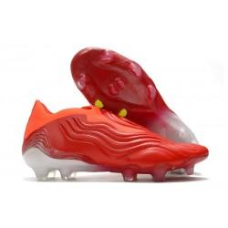 Buty piłkarskie adidas Copa Sense+ FG Czerwony Biały
